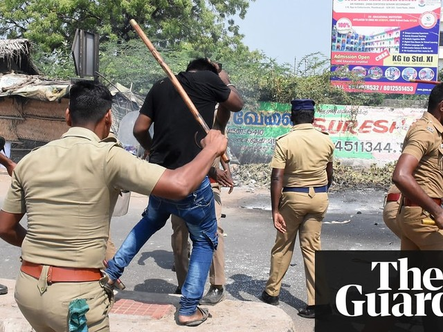 Police in south India accused of mass murder after shooting dead protesters