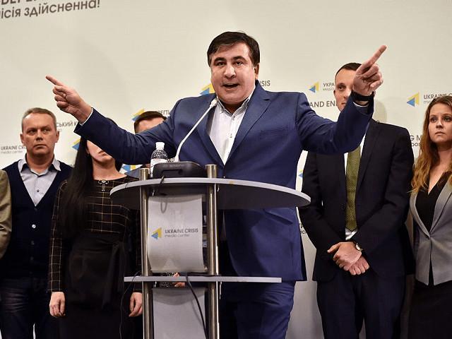 Ukraine Raids Protest Tent City, Again Fails to Arrest Fugitive Ex-Georgian Leader Saakashvili