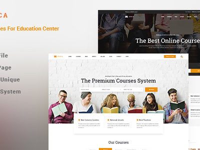 EDUCA | Multiconcept Education & Courses HTML Template (Business)