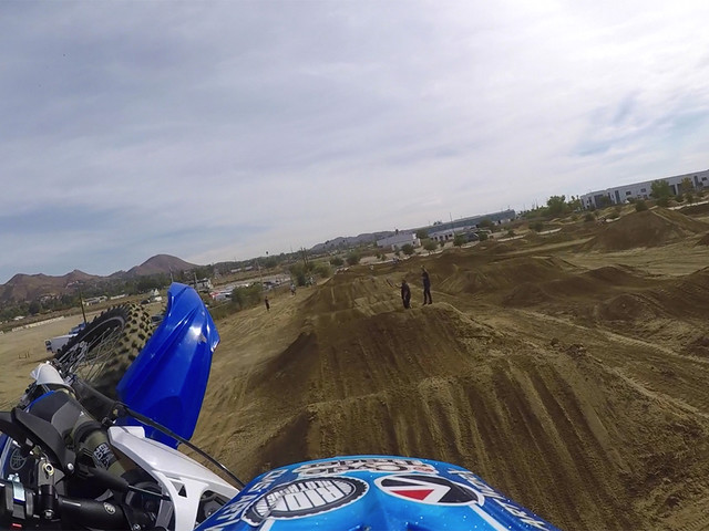 GoPro Onboard | Bradley Taft - Take A Lap At Elsinore's SX Track