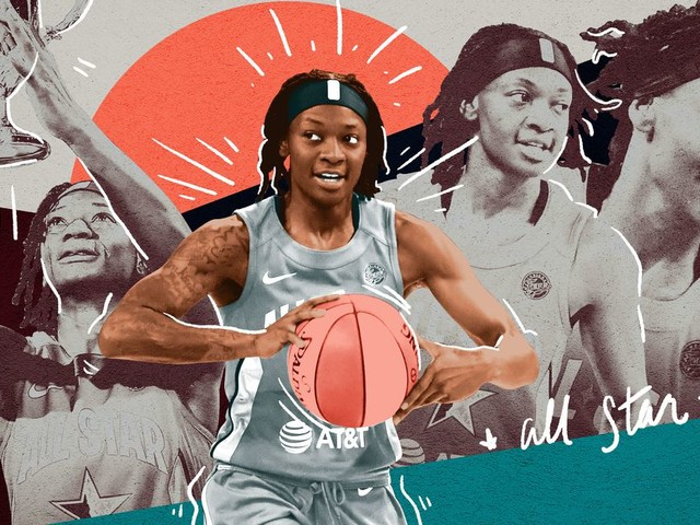 Erica Wheeler's Journey from $200 a Week to WNBA All-Star MVP