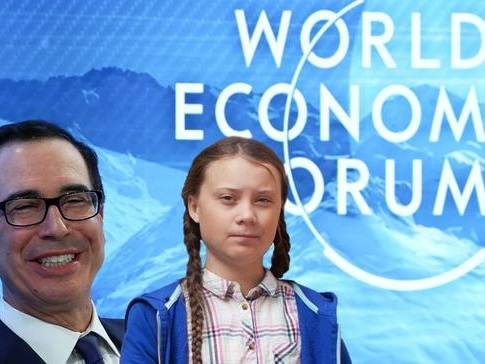 """Let's Talk After She Finishes College"" - Mnuchin Slams Greta Thunberg"