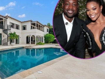 Gabrielle & D. Wade Put Their Super Fab Miami Abode On The Market For $32M After Officially Moving To L.A.