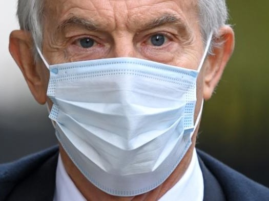 Tony Blair Suggests Unvaccinated Brits Should Remain Under Lockdown Restrictions