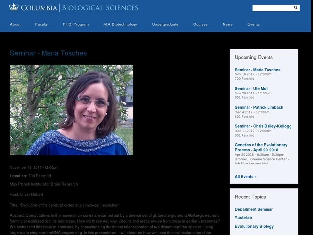 Seminar - Maria Tosches