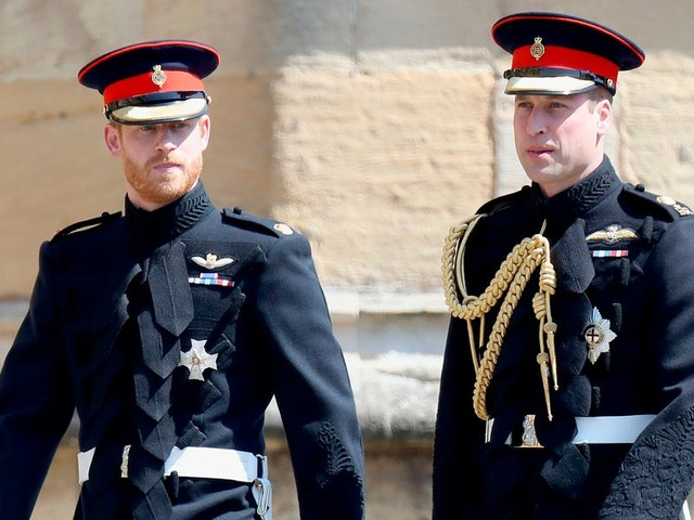 Prince William said he and Harry are 'separate entities' following his brother and Meghan Markle's plans to 'step back' from royal life, according to a friend