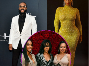 Tyler Perry Dedicates Sound Stage To Diahann Carroll At His Studios' Star-Studded Grand Opening + Beyonce Flaunts Her Curves In Sparkly Lemon Colored Gown