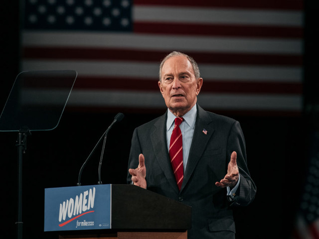 Michael Bloomberg Outspends Rivals On Presidential Campaign Ads