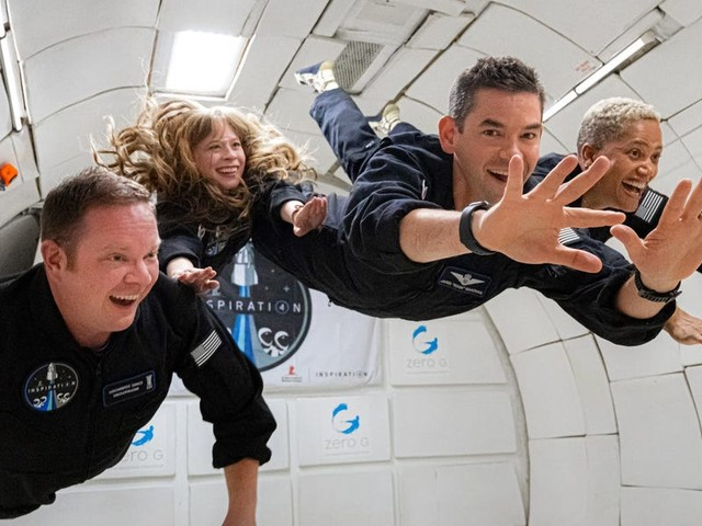 SpaceX's first all-civilian crew say they're taking a ukulele, poetry, and a copy of TIME magazine to space