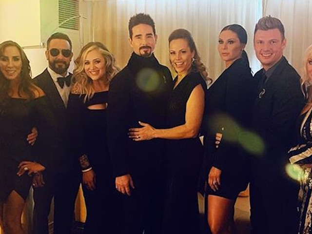 The Backstreet Boys Turned the Grammys Into a Giant Group Date With Their Beautiful Wives