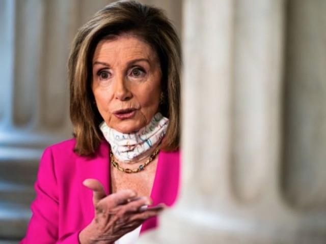 Pelosi, CNN's Blitzer in heated exchange over stimulus bill