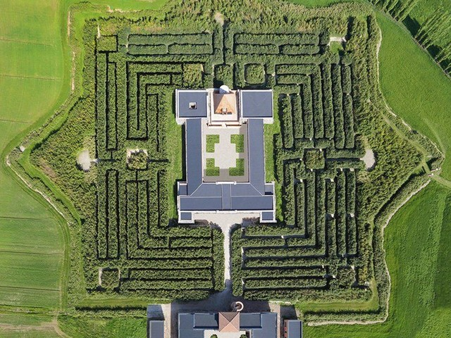 This Is The World's Largest Labyrinth