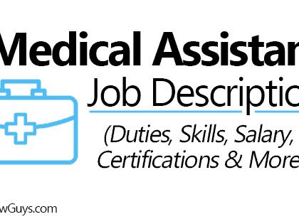 Medical Assistant Job Description (Skills, Duties, Salary, Certification & More)