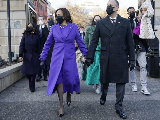 Kamala Harris' inauguration dress made by Louisiana designer