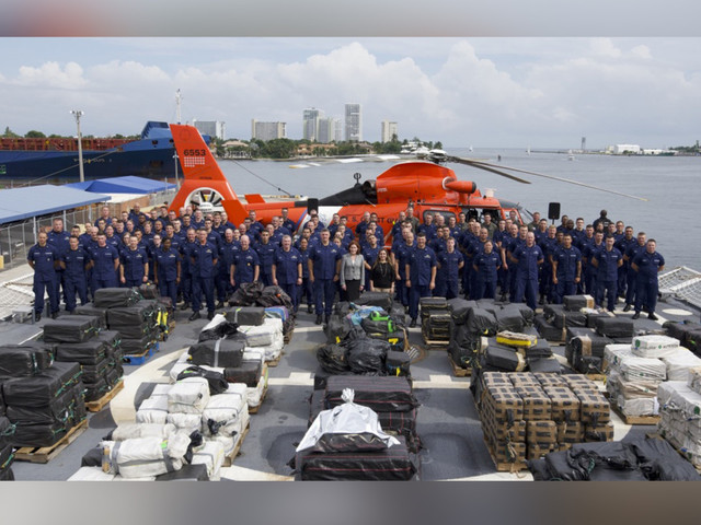Coast Guard seizes $500M worth of cocaine