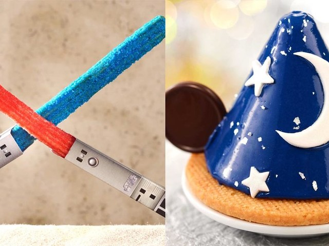You'll soon be able to buy churros that look like lightsabers and cake that looks like Sorcerer Mickey at Disney World