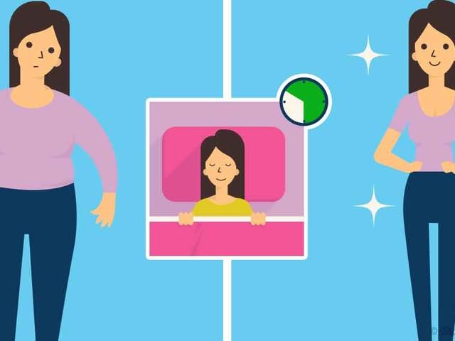 Sleep More, Weigh Less?