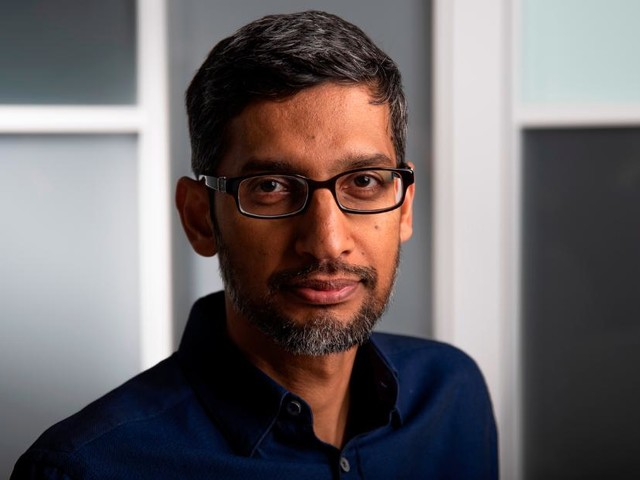 Google CEO reacts to looming US antitrust probes for first time