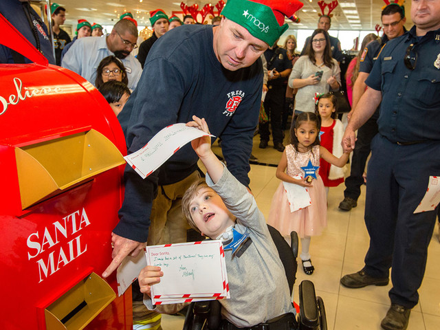 Here's how you can send your letter to Santa and help a good cause