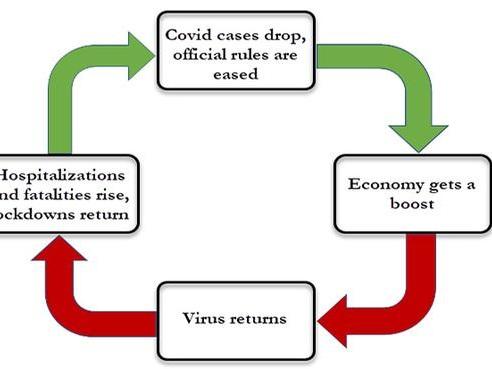 The COVID Feedback Loop
