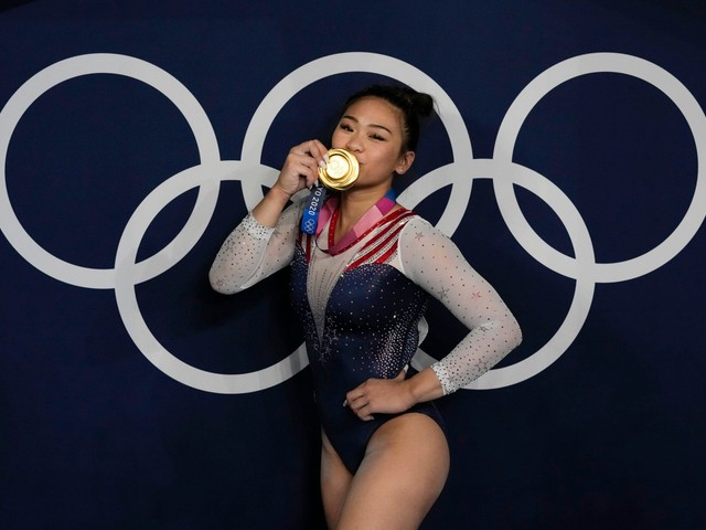 American Gymnast Sunisa Lee Takes Olympic Gold