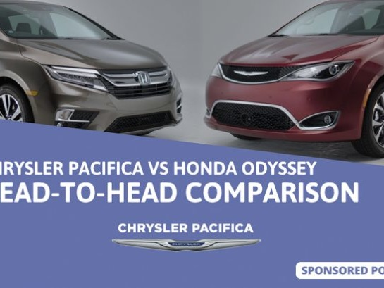 Chrysler Pacifica vs Honda Odyssey – Head To Head Comparison