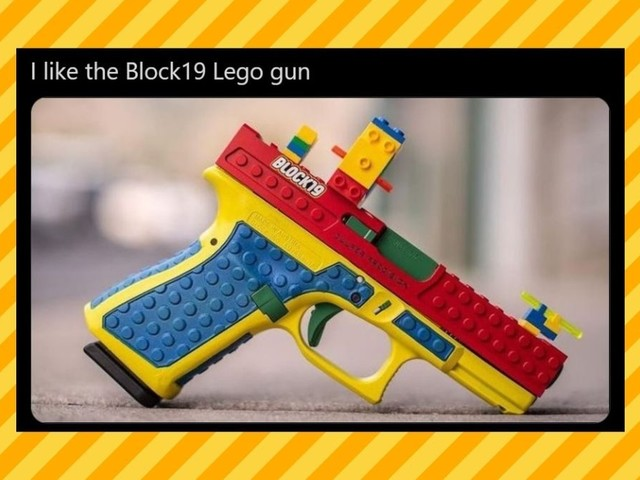 Is This 'Lego Gun' Real?