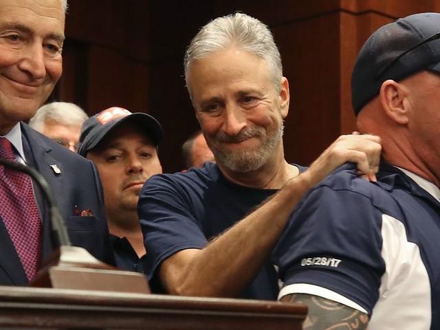 Jon Stewart celebrates passage of 9/11 compensation bill: 'The honor of my life'