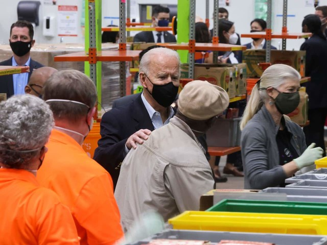 In storm-struck Texas, Biden's personal touch is muted by the pandemic