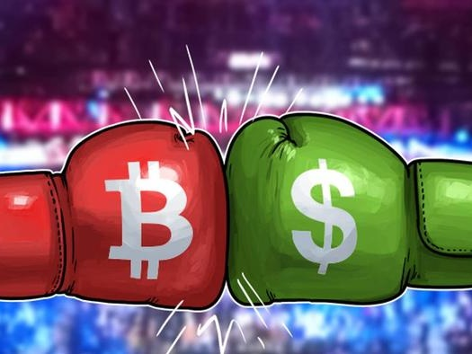 Dollar Dumps, Gold Jumps, Bitcoin Pumps To Record High