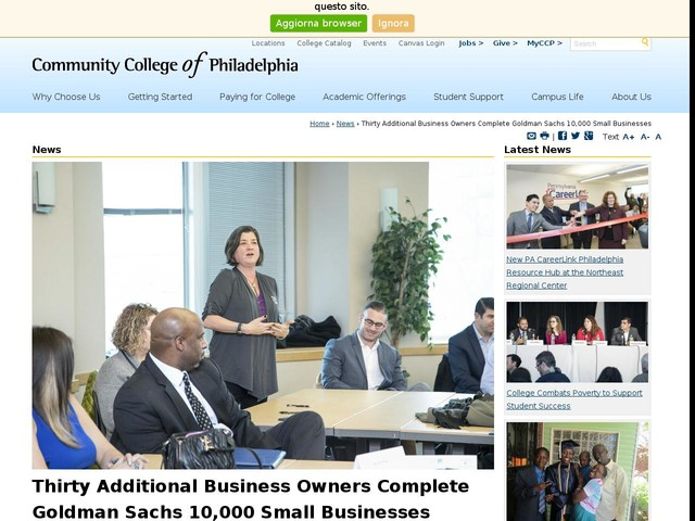 Thirty Additional Business Owners Complete Goldman Sachs 10,000 Small Businesses