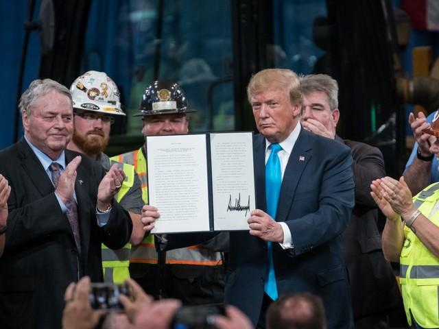 Trump executive order brings scrutiny to environmentally conscious 401(k) investments - CNBC