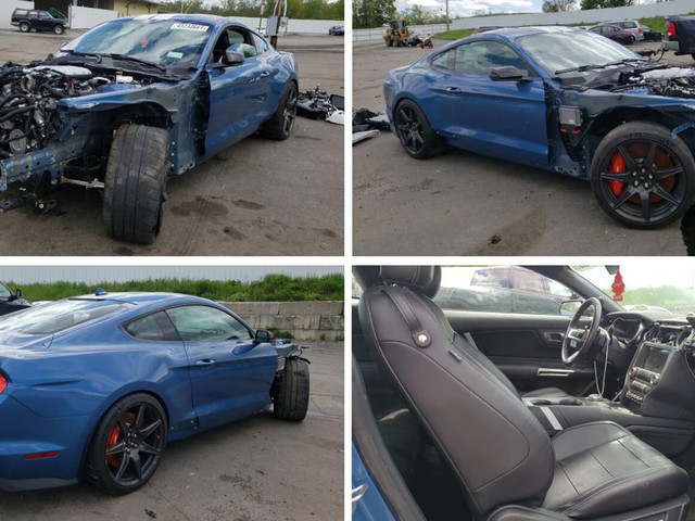 Crashed 2020 Ford Mustang Shelby GT500 For Sale, Is It Your Next Cars & Coffee Ride?