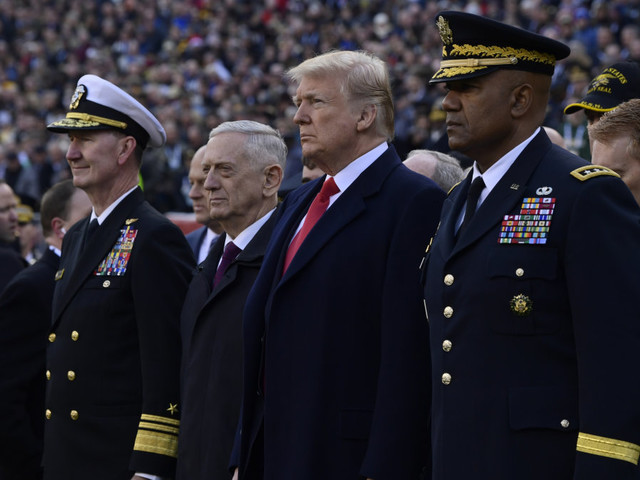 President Donald Trump planning to attend Army-Navy game Saturday