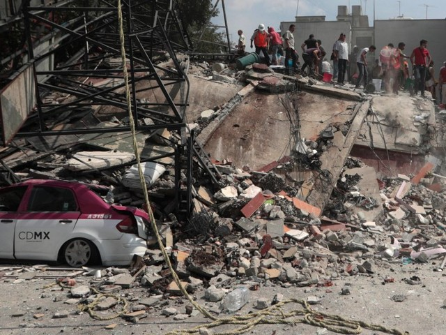 A powerful 7.1 magnitude earthquake jolted Mexico City, killing more than 200