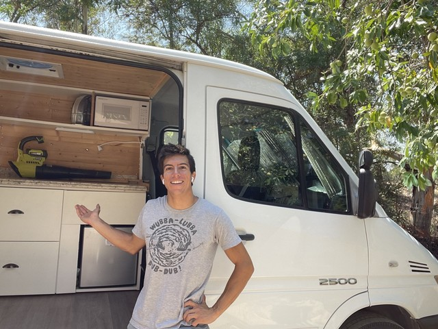UCSB students without housing resort to desperate measures weeks before school, including van life