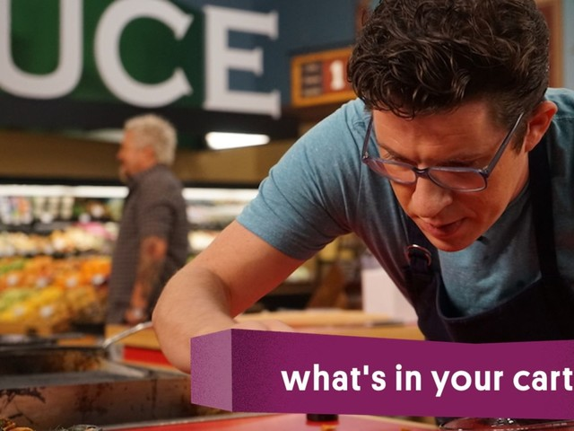 What's In Your Cart, Justin Warner?