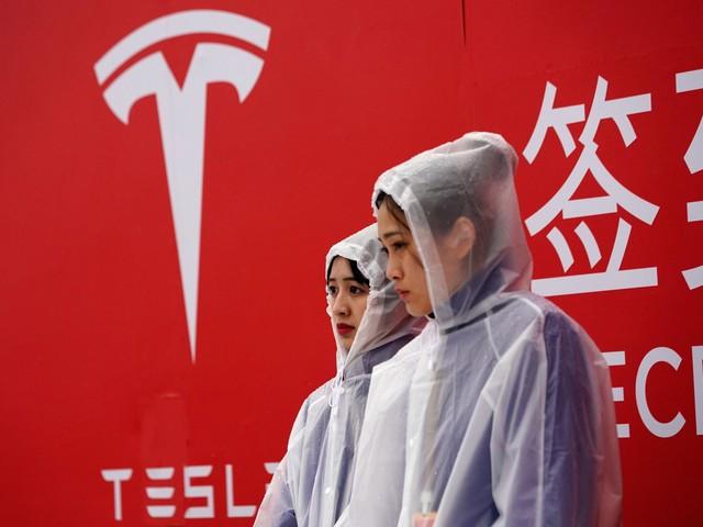 Tesla is rallying after breaking ground on its Shanghai Gigafactory (TSLA)