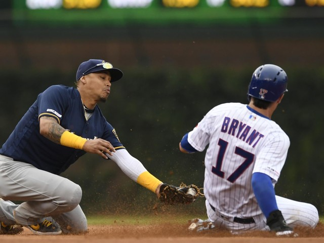 Cubs scratch 3B Kris Bryant with right knee soreness