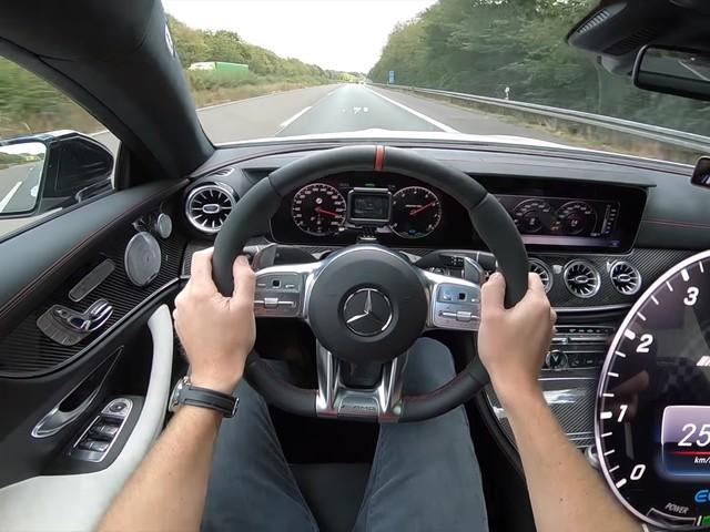 Watch the Mercedes-AMG E53 Mild Hybrid Make a Gut-Churning Top-Speed Run