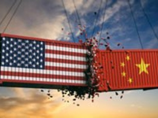 The Dow Jones Industrial Average Is Weighed Down by Trade War Concerns