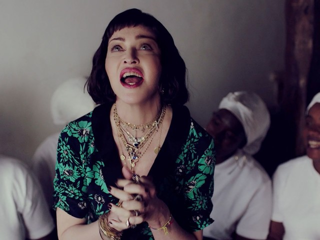 "Watch The Exclusive Premiere Of Madonna's ""Batuka"" Video & Hear From The Woman Herself"