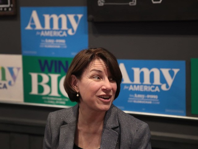 'I really like you': Iowa voters give Amy Klobuchar another look