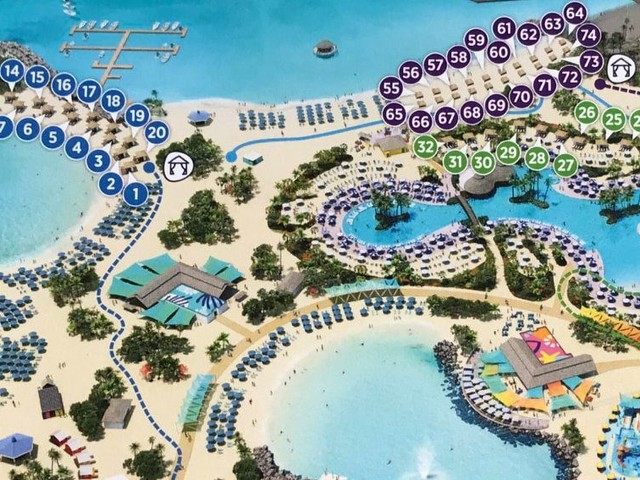 View the updated Perfect Day at CocoCay cabana map