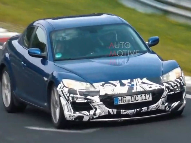 Mazda Continues Testing RX-8 Prototypes At The 'Ring, Fuels Rotary Return Rumors