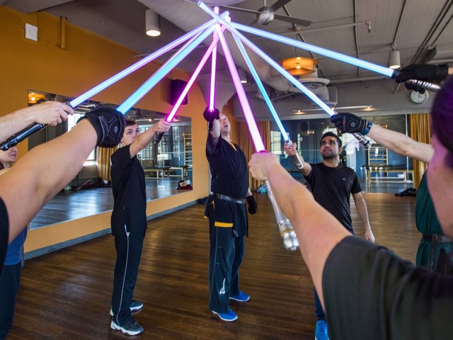 There's a lightsaber combat academy in San Francisco. We tried it.