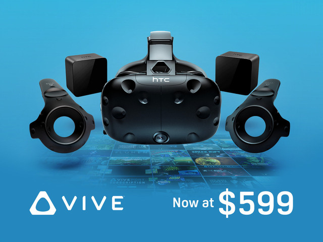 HTC VIVE just got a big (and permanent) price drop