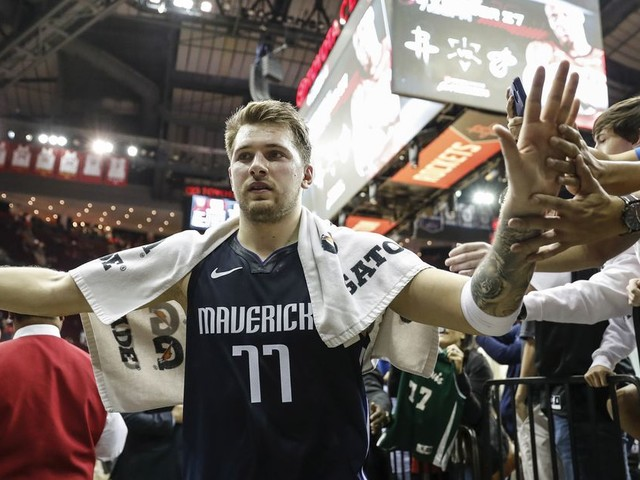 Luka Doncic's Mavericks have the best offense in NBA history*