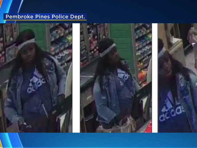 Pembroke Pines PD: Help Identify Woman Who Stole, Used Elderly Woman's Credit Card
