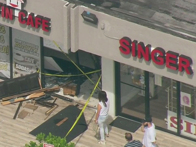 SUV Slams Into Restaurant In Westchester
